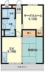 新川崎貳阡(新川崎二千)[0201号室]の間取り