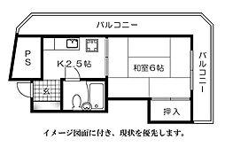 渡辺ビル[701号室]の間取り