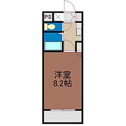 トワイライト[1階]の間取り