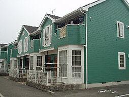 愛媛県松山市東石井2丁目の賃貸アパートの外観