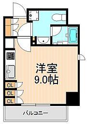 東京都台東区浅草橋5丁目の賃貸マンションの間取り