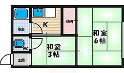 西田辺駅 2.0万円