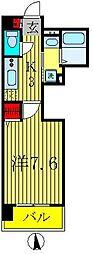 柏808タワー[206号室]の間取り