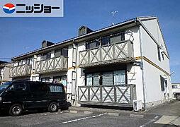ホワイト ローヌA棟[1階]の外観