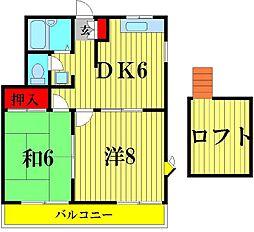 M・Yヒルズシンフォニー[2階]の間取り