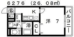 アンプルールフェールREALIFEII[305号室号室]の間取り