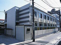 埼玉県川口市栄町2丁目の賃貸アパートの外観