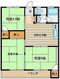 加藤マンション[2階]の間取り
