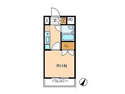 コンフォール小泉[2階]の間取り
