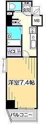 ガラ・ステージ国分寺[5階]の間取り