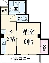 埼玉県川口市在家町の賃貸マンションの間取り
