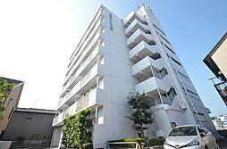 愛知県名古屋市港区本宮町8の賃貸マンションの外観