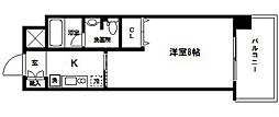 グランマーレ天満橋[5階]の間取り