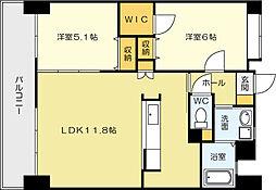 フェルト127[3階]の間取り