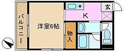 清水ビル[3階]の間取り