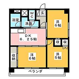 阿久井大工町ビル[7階]の間取り