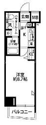東京都板橋区大谷口北町の賃貸マンションの間取り