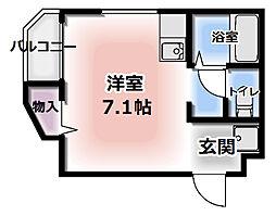 メゾンジョイII[302号室]の間取り