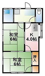 [一戸建] 千葉県大網白里市北飯塚 の賃貸【/】の間取り