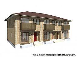 香川県高松市今里町1丁目の賃貸アパートの外観
