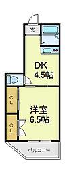 コンフォート島田[4階]の間取り