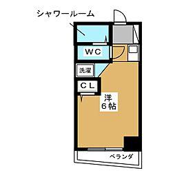 シボラ六条高倉[4階]の間取り