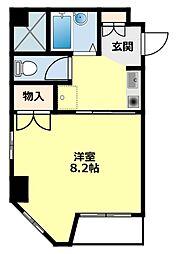 愛知県豊田市若宮町1丁目の賃貸マンションの間取り