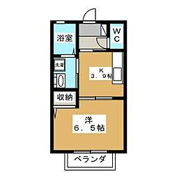 ボニートM[1階]の間取り