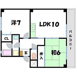 ボンクー[2階]の間取り