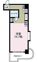 夏井ケ浜リゾートマンション[316号室]の間取り