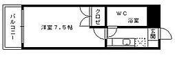 スチューデント室見[2階]の間取り