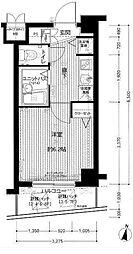 メインステージ南麻布II[5階]の間取り