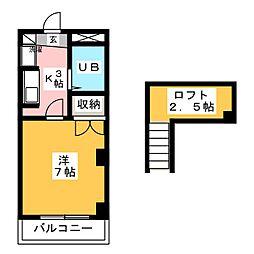 トゥ・エスポワール[3階]の間取り