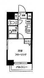 スカイコート高田馬場第5[2F号室号室]の間取り