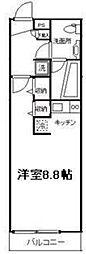 リブリ・スカイIII[1階]の間取り