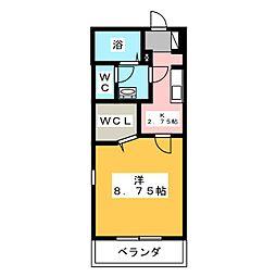 エトワール榊原[2階]の間取り