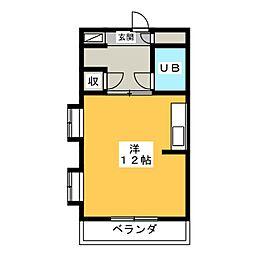 コンフォール佐鳴台[1階]の間取り