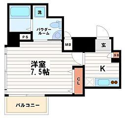 セレニテ本町ROJI02[5階]の間取り
