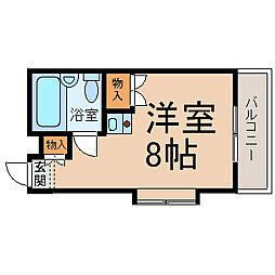 アスク正木[2階]の間取り