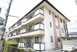 埼玉県越谷市西方2丁目の賃貸マンションの外観