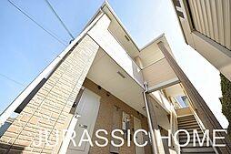 大阪府堺市北区百舌鳥赤畑町3丁の賃貸アパートの外観