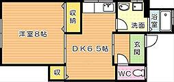 第二荒巻アパート[2階]の間取り