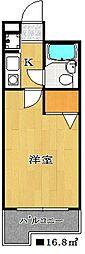 フェリーチェ本八幡[7階]の間取り