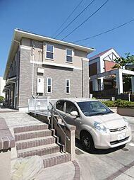 愛知県名古屋市千種区光が丘2丁目の賃貸アパートの外観