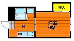 レクサス神田[4階]の間取り