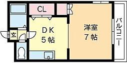 北海道札幌市中央区南六条西16丁目の賃貸マンションの間取り