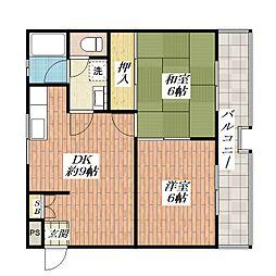 メゾン並木[2階]の間取り