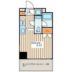 Premium Residence Kawasaki[805号室]の間取り