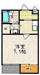 レタンドゥラメールCKIII[105号室]の間取り