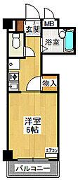 メゾネット栄根[2階]の間取り